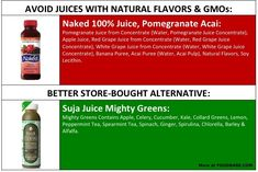 10 Grocery Store Items You Should Never Buy Again (Plus the good alternative swaps!) on http://foodbabe.com