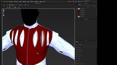 Marvelous Designer 5 Tutorial - Piping and Exporting Piping to ZBrush