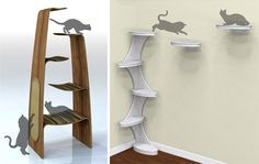 diy cat tree   ... cat products, cat toys, cat furniture, and more…all with modern
