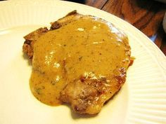 Walkerswood Recipes: Pork Chops in Walkerswood Hot Pepper Mustard Sauce Mustard Sauce For Pork, Mustard Pork Chops, Pot Roast Recipes, Pork Recipes, Cooking Recipes, Roast Pork Chops, Pork Tenderloin Recipes, Dash Recipe, Cooking Crab Legs