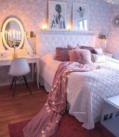 50 inspiring bedroom ideas for teen girls you will love 50 – Home Dekor Room Makeover, Room, Room Ideas Bedroom, Room Design, House Rooms, Bedroom Inspirations, Room Decor, Girl Bedroom Decor, Dream Rooms
