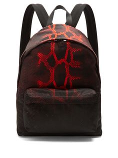 Python-print nylon backpack | Givenchy | MATCHESFASHION.COM