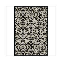 Crescent Drive Rug Company Piazza Rockwell Sand/Black Rug Outdoor Seating Areas, Indoor Outdoor Area Rugs, Laundry Room Rugs, Dynamic Rugs, Rug Company, Ikat Print, Machine Made Rugs, Black Rug, Throw Rugs