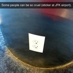 Trolling the airport, level- Master.Source: I Fucking Love This