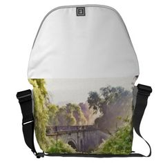 Misty morning courier bags Rickshaw Large Zero Messenger Bag.  Perfect for commuting, bike trips,  or traveling the Large Zero Messenger Bag has room for everything from  helmets to laptops. #waterway #canal #aqueduct #wiltshire