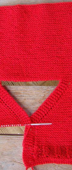 tutorial puntomoderno.com Knitting For Kids, Baby Knitting, Knitted Baby Clothes, Knitting Patterns, Knit Crochet, Little Girls, Baby Shower, Stitch, Blog
