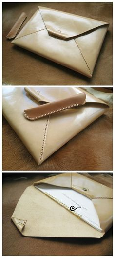 Ipad mini handmade leather case. $79.00, via Etsy.