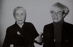 Georgia O'Keefe and Andy Warhol.