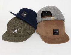 #HUF Fall 2013 Caps