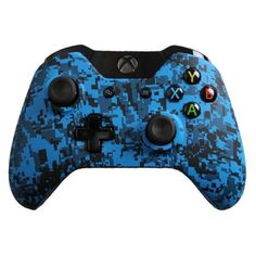 Modded Xbox One Controller Special Edition Blue Urban with Rapid Fire, Drop Shot and more mods for Call of Duty: Ghosts and Battlefield 4 Video Games Xbox, New Video Games, Xbox One Games, Xbox Games, Custom Xbox One Controller, Xbox Controller, Xbox 1, Playstation, Xbox One Mods