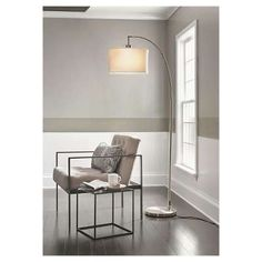 Arc Floor Lamp (Includes CFL Bulb) - Threshold™