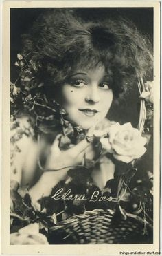 Clara Bow 1920s Real Photo Postcard
