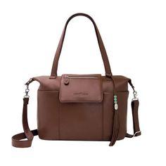 designer diaper bag, brandy leather diaper bag, backpack diaper bag