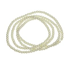 Happy New Year Promotion Coupon: GET off discount soon! Diy Necklace, Pearl Necklace, Fashion Beads, Light Orange, Bead Crafts, Pearl Beads, Round Glass, Glass Beads, Jewelry Making