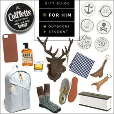 The Ultimate Gift Guide - Gifts for Him