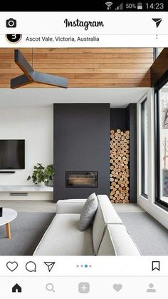 tv and fireplace wall fireplace tv wall mount full motion aeon 50300 wall unit fireplace tv stand – PREMIERE – fireplace Living Room Wood Floor, Big Living Rooms, Living Room Modern, Home Living Room, Living Room Designs, Living Room Decor, Fireplace Tv Wall, Black Fireplace, Living Room With Fireplace