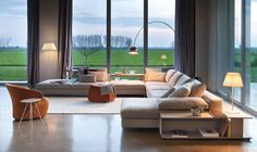 Ecksofas: Sofakombination Scott von Zanotta