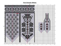 жаккардовые узоры — схемы жаккарда к рукавичкам   OK.RU Knitted Mittens Pattern, Fair Isle Knitting Patterns, Knitting Charts, Knit Mittens, Knitted Gloves, Knitting Designs, Knitting Projects, Knitting Socks, Hand Knitting