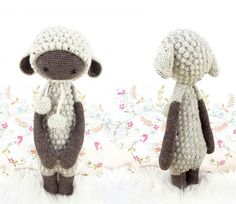 Knuffels à la carte blog: Ready for a cold winter, day 4 - Lupo the weresheep!
