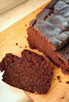 My Diet fad: Chocolate - banana cake with beans Snack Recipes, Healthy Recipes, Snacks, Healthy Food, Brownie Cake, Brownies, Gluten Free Cakes, Clean Eating, Good Food