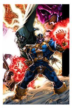 Marvel Villians by Philip Tan and Moose Bauman