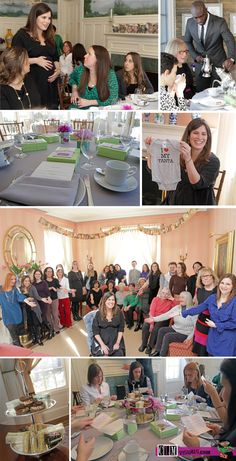 High tea and book themed baby shower