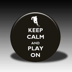 Hockey keep calm puck Hockey Baby, Hockey Girls, Hockey Quotes, Pittsburgh Penguins, Chicago Blackhawks, Keep Calm, Nhl, My Love, Hockey Stuff