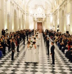 THE DEBUTANTES BALL 2013 ~ on November 16, 2013, in the sumptuous surroundings of the Palace of Venaria Reale in Turin the Debutante Ball will take place.