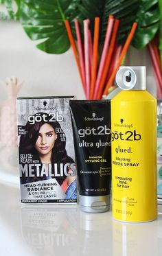 DIY at Home Hair Dye Tips & Tricks + Twisted Headband Styling Tutorial with Schwarzkopf Metallics Smoky Violet & hair products on All Things Beautiful XO Home Hair Dye Tips, How To Dye Hair At Home, Metallic Hair Dye, Sleep Hairstyles, Dyed Tips, Hair Thickening, Twist Headband, Color Your Hair