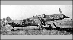 Shown above, Hungarian pilot Antal Szebeni's fighter, a model referred to as Gustav by Axis pilots, had suffered damage on its tail section during the closing weeks of the war, perhaps in a dog fight. The Spitfires, Dog Fighting, Ww2 Aircraft, Luftwaffe, World War Two, Military Vehicles, Wwii, Air Force, Fighter Jets