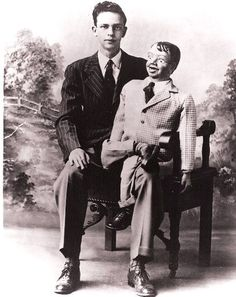 Before he was a deputy, Don Knotts with Danny.