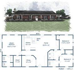 Metal+Building+House+Plans | Metal Building Homes Floor Plans Metal ...