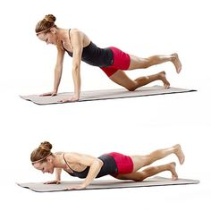 Tone your arms with this Tricky Cat move. This entire workout takes just 10 minutes! #exercise #fitness | Health.com