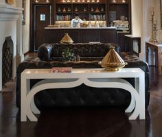 casablanca-sofa-table Custom Furniture, Luxury Furniture, Furniture Design, Traditional Console Tables, Luxury Interior, Interior Design, Moorish, Site Design, Entryway Tables