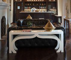 casablanca-sofa-table Custom Furniture, Luxury Furniture, Furniture Design, Traditional Console Tables, Luxury Interior, Interior Design, Moorish, Site Design, Casablanca