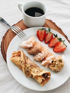 10 Healthy Breakfast Ideas for Kids - Useful Articles Healthy Desayunos, Healthy Fruits, Healthy Snacks, Healthy Eating, Healthy Recipes, Best Breakfast, Breakfast Recipes, Breakfast Healthy, Breakfast Pancakes