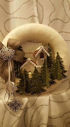 1 million+ Stunning Free Images to Use Anywhere Easy Christmas Ornaments, Christmas Makes, Noel Christmas, Holiday Wreaths, Rustic Christmas, Christmas Projects, All Things Christmas, Simple Christmas, Handmade Christmas