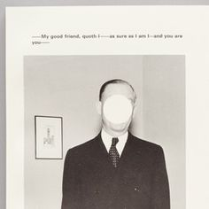 John Baldessari. The Life and Opinions of Tristram Shandy, Gentleman. 1988 | MoMA