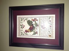 Rooster cross stich