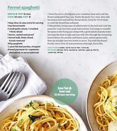 Édeskömény spagetti #ClippedOnIssuu from Bbc good food uk july 2017
