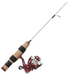 Clam Genz Powerstick Ice Fishing Rod and Reel Spinning Combo | Bass Pro Shops