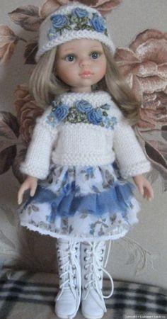 А у нас новенькая / Одежда и обувь для кукол - своими руками и не только / Бэйбики. Куклы фото. Одежда для кукол