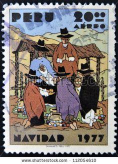 Peru Stamp 1977