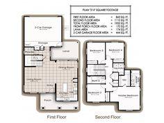 Navy Region Hawaii – Battleship Cove Neighborhood:  4 bedroom home floor plan (other floor plans available).