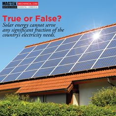 Can solar #energy support our country's needs? #Magtek