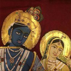 Chanting Hare Krishna and the original problem. by Sacinandana Swami Señor Krishna, Krishna Avatar, Hare Krishna, Pichwai Paintings, Mughal Paintings, Indian Paintings, Meditation France, Spiritual Paintings, Indian Folk Art