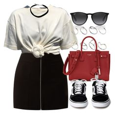 """""""#14686"""" by vany-alvarado ❤ liked on Polyvore featuring Ray-Ban, ASOS and Yves Saint Laurent"""