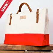 Bon Journey Basic Red travel tote from The New Domestic website