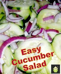 Best Cucumber Salad on MyRecipeMagic.com