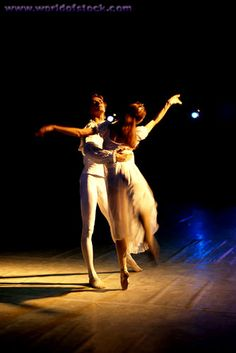 Ballet Dancers Dancing On Stage - Learn to dance at BalletForAdults.com!